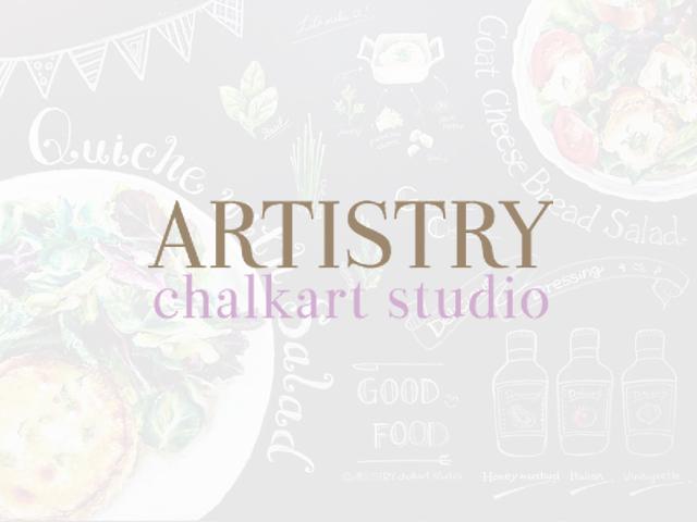 ARTISTRY chalkart studio 種部千華代